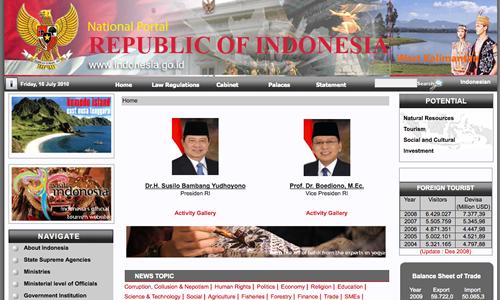 Indonesia Uses Joomla