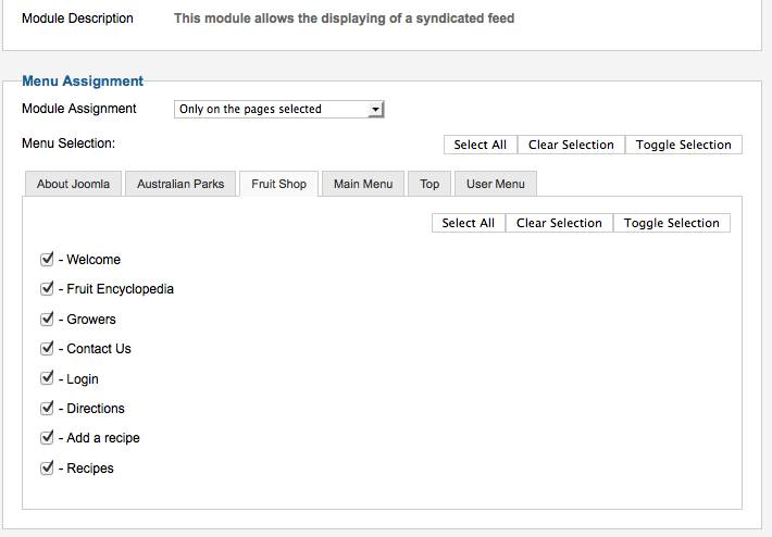 Archive here is an example for the fruitshop menu where select all has been clicked fandeluxe Image collections