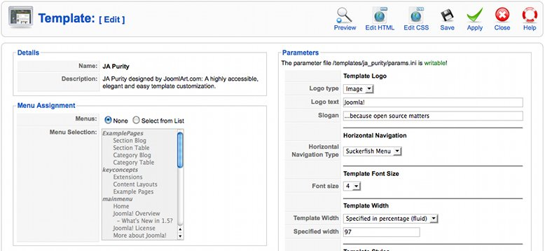 Error uninstalling blank template in joomla! 1. 5. 20 joomlart.