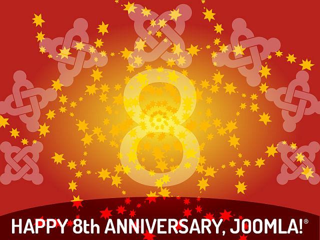Joomla! 8. rodjendan