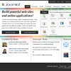 The new Joomla.org home page