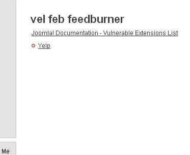 Vulnerable Extension List Rss Feed Launched