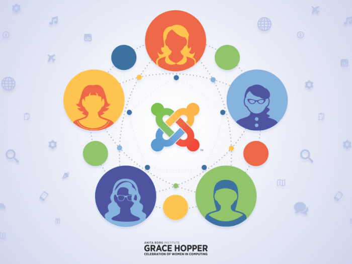 Joomla at Grace Hopper