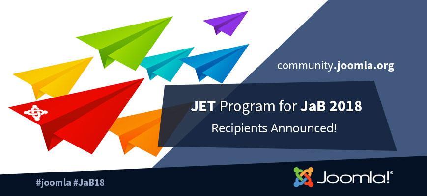 JET Program Award Recipients Announced
