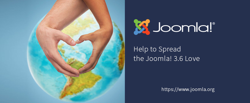 Help to Spread the Joomla! 3.6 Love