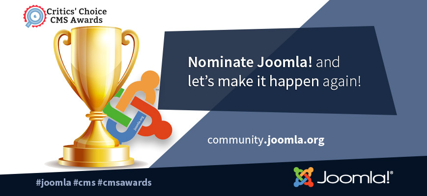Joomla CMS Critic Awards  2018