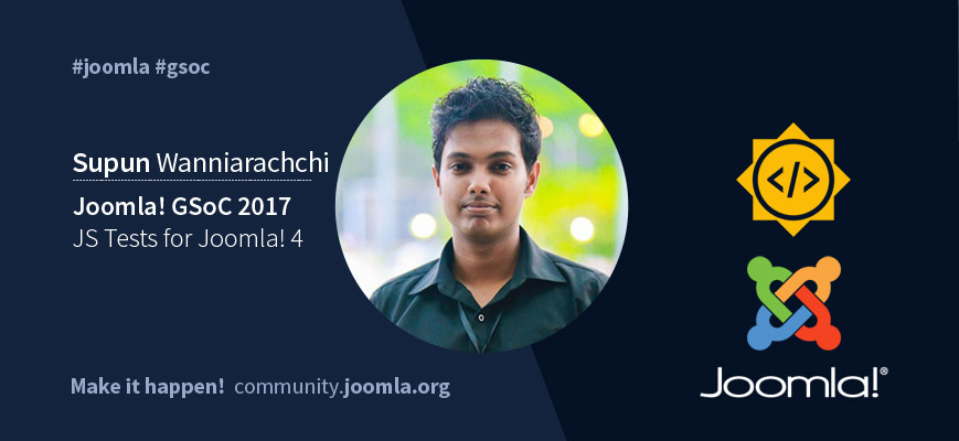 JS Test for Joomla 4 Supun Wanniarachchi