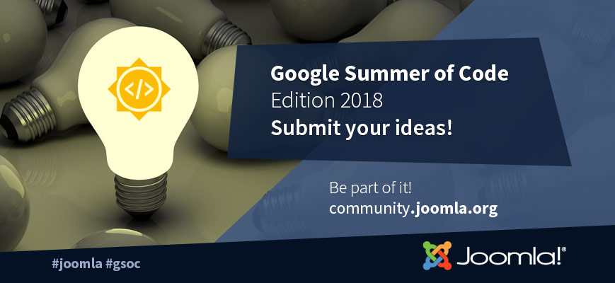 Joomla Google Summer of Code 2018