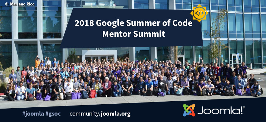 2018 Google Summer of Code Mentor Summit