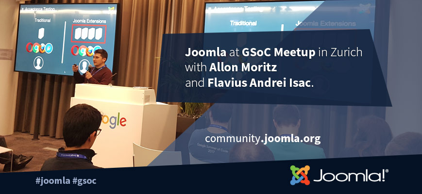 Joomla at GSoC Meetup in Zurich