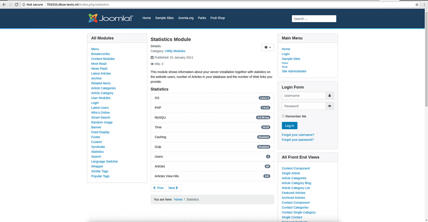 PR Testing Platform for Joomla