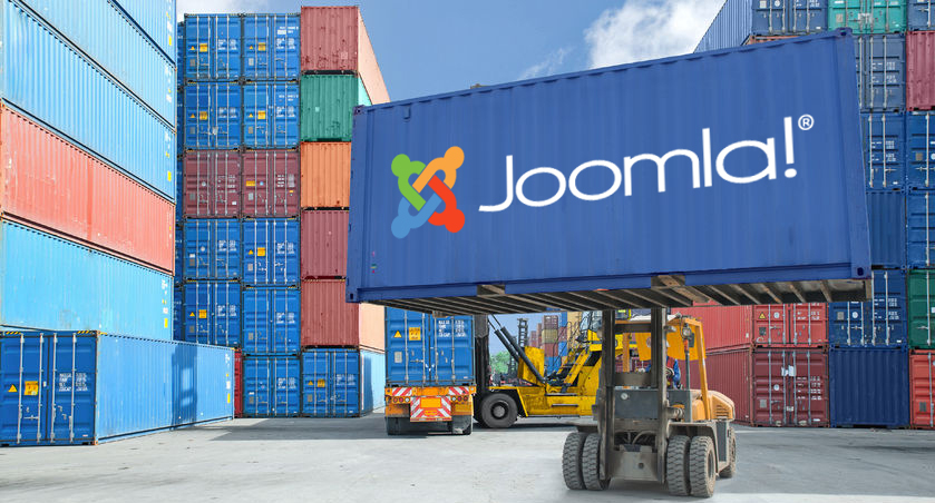 Joomla as a container