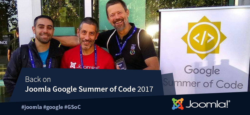 Joomla at GSoC 2017 Mentor Summit