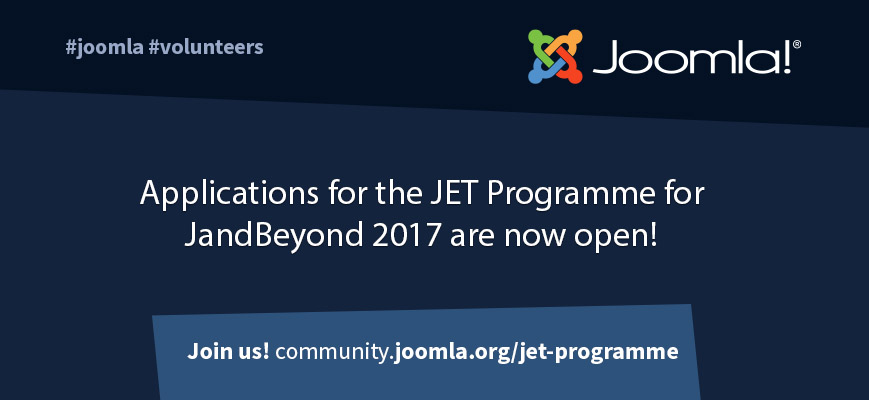 Joomla Event Travel Programme JAB 2017