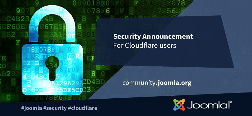Joomla and Cloudflare