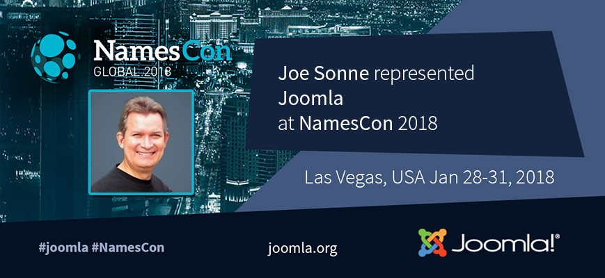 Joomla at NamesCon 2018