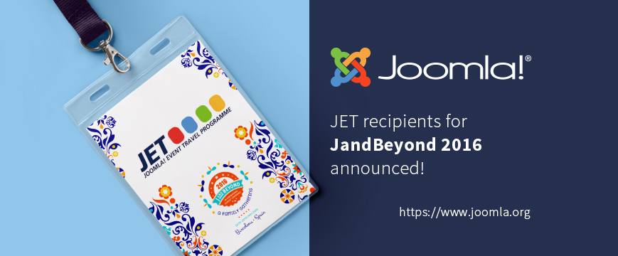 Joomla Event Travel Programme Logo