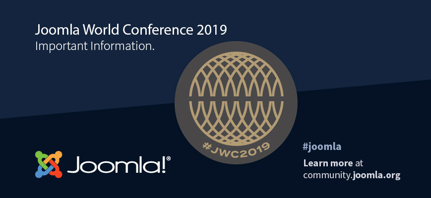 Information about the Joomla World Conference 2019