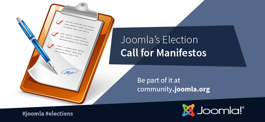 Call for Candidate Manifestos - Operations DC Replacement - 2020