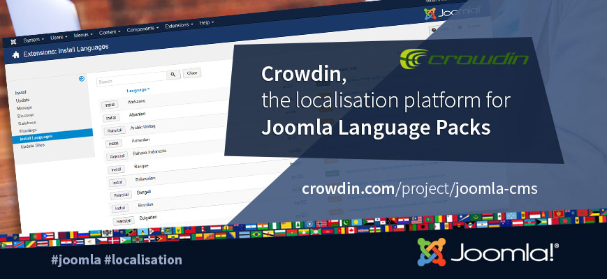 Joomla and Crowdin