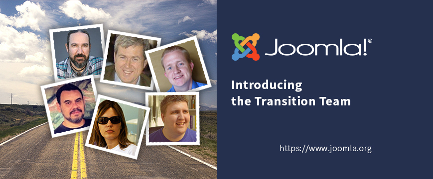 Meet the Joomla Transition Team