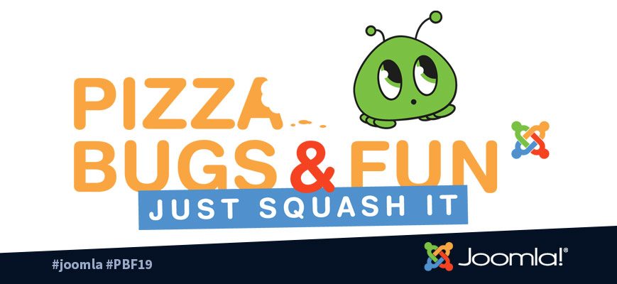 Joomla Pizza Bugs and Fun 2019