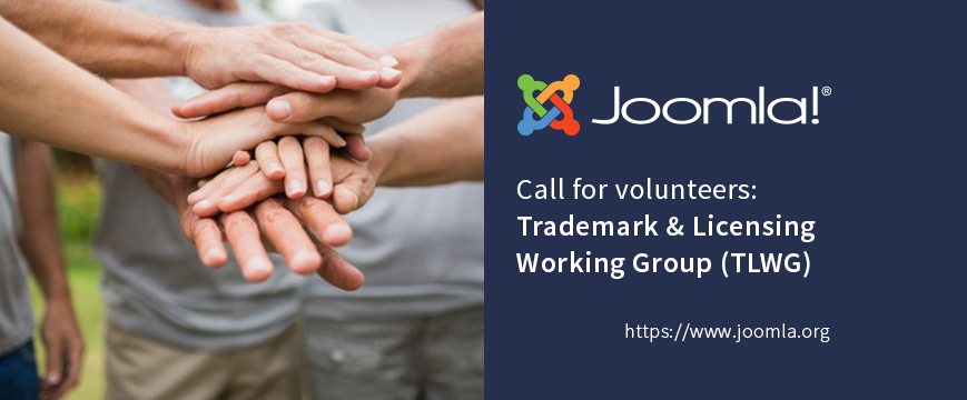 Join the Joomla Trademark & Licensing Working Group