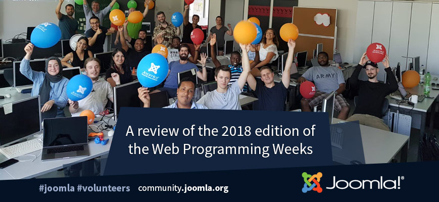 Joomla Web Programming Weeks