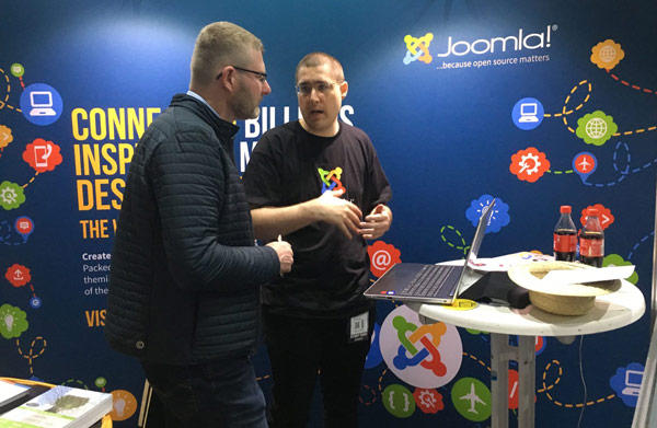 joomla cloudfest booth
