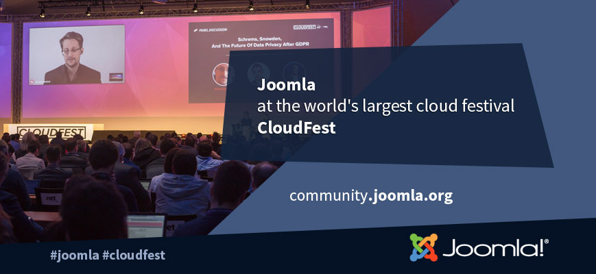 Joomla at CloudFest