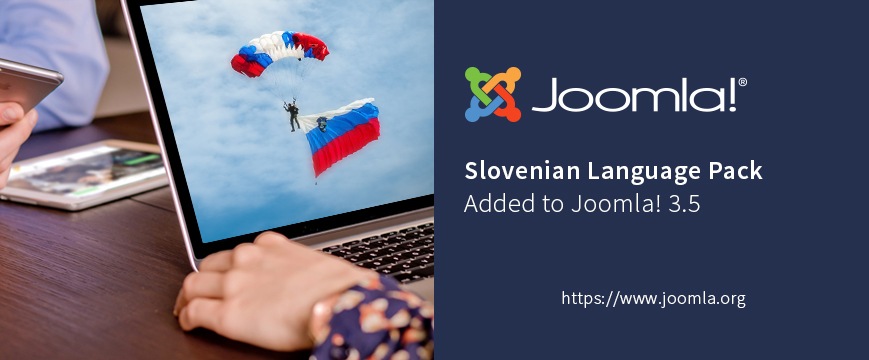 Slovenian Language Pack Added to Joomla 3.5
