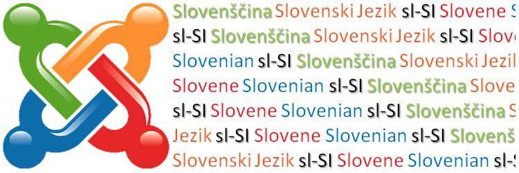 Joomla! Slovenian