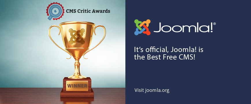 2017 Winner for Best Free CMS
