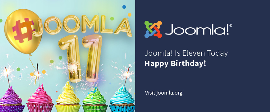 Joomla! turns 11