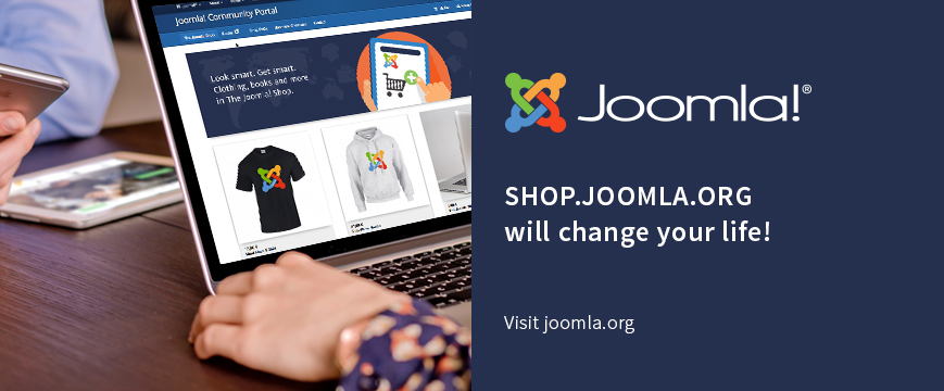 SHOP.JOOMLA.ORG will change your life!