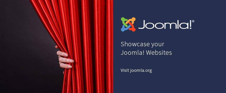 Showcase your Joomla! sites Showcase your Joomla! sites